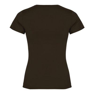 maillot coton femme marron dos