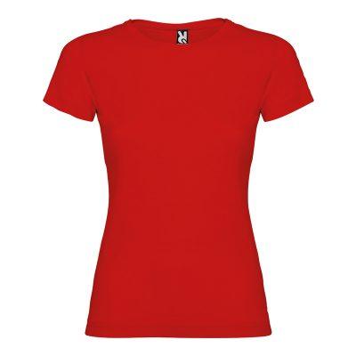 maillot coton femme rouge