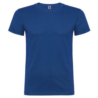 maillot coton homme bleu royal