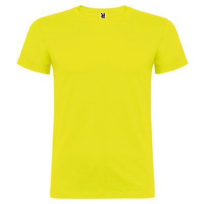 maillot coton homme jaune