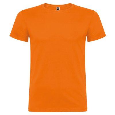 maillot coton homme orange