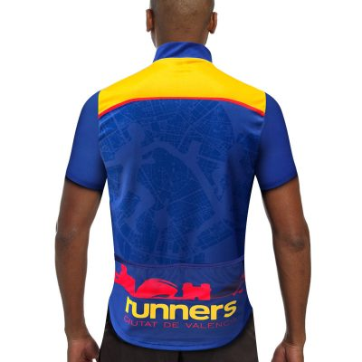 maillot cyclisme runnek homme dos