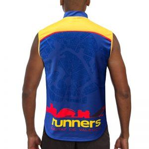 maillot trail sans manches runnek homme dos