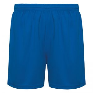 pantalon technique court runnek bleu royal