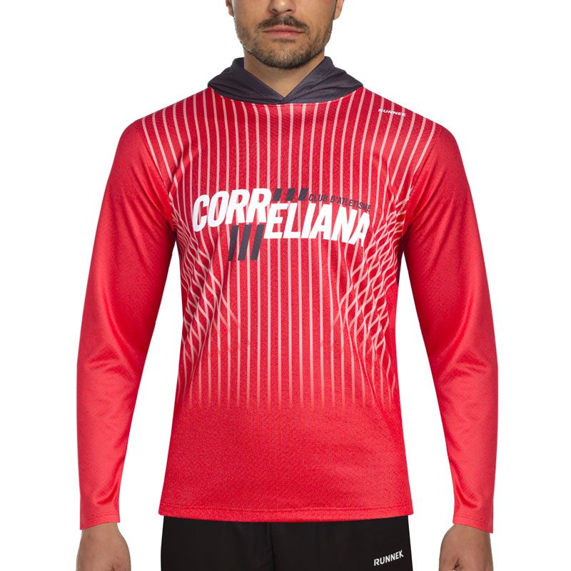 sweat shirt athletisme runnek homme