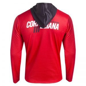 sweat shirt athletisme runnek homme capuche dos
