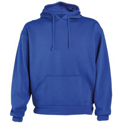 sweat shirt coton bleu royal