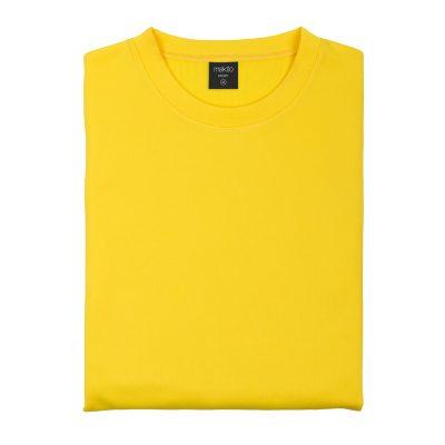sweat shirt technique basique jaune