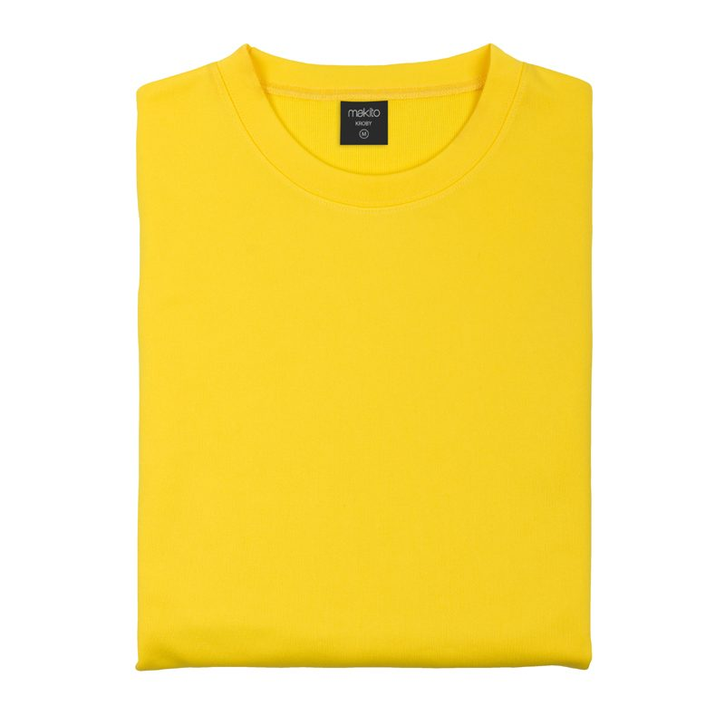 sweat shirt technique basique jaune