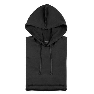 sweat shirt technique capuche noir