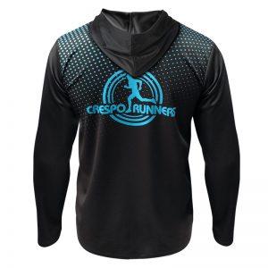 veste athletisme runnek avec capuche 1 dos