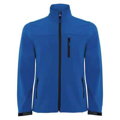 veste technique soft shell homme bleu