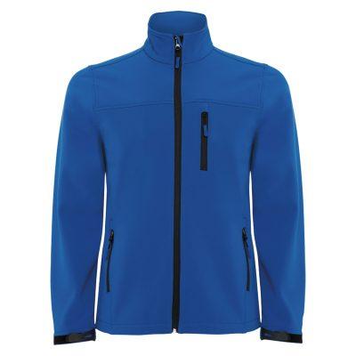 veste technique soft shell homme bleu