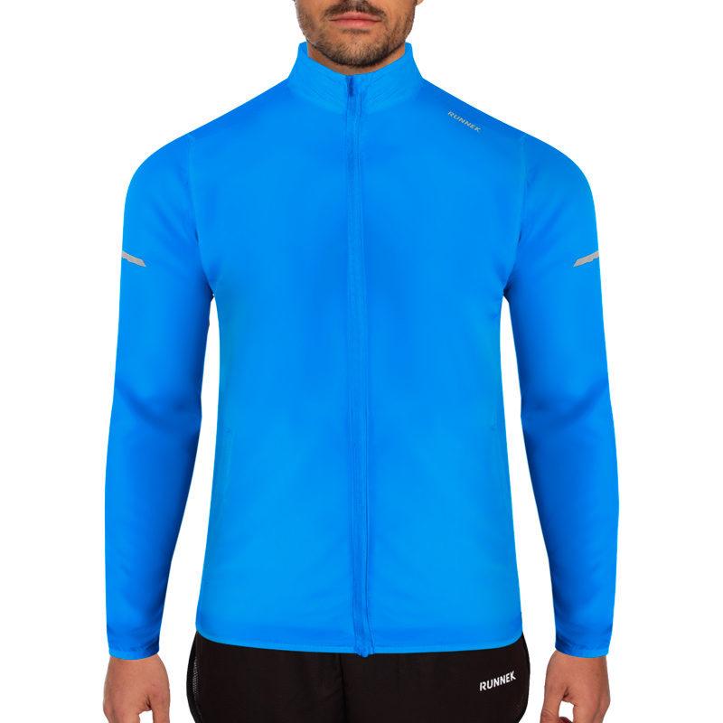 veste coupe-vent bleu