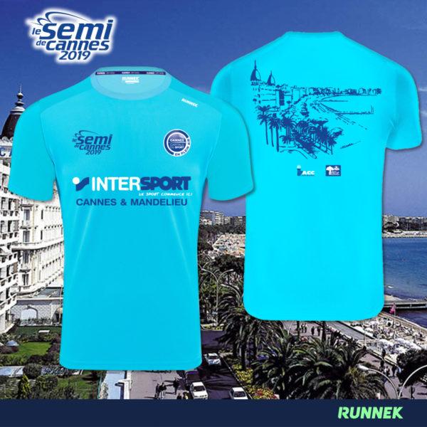 Maillot Semi Marathon Cannes