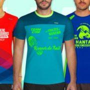 Tee-shirt running personnalisé