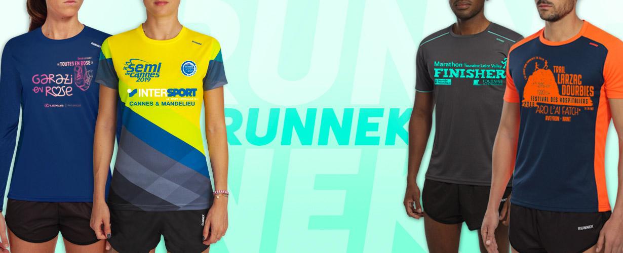Créer son maillot technique et t shirt running personnalisé