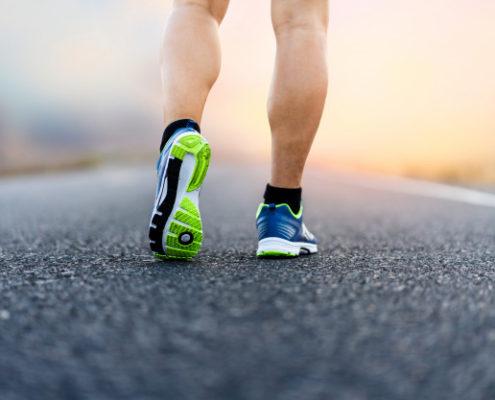 Soin des pieds pour les coureurs