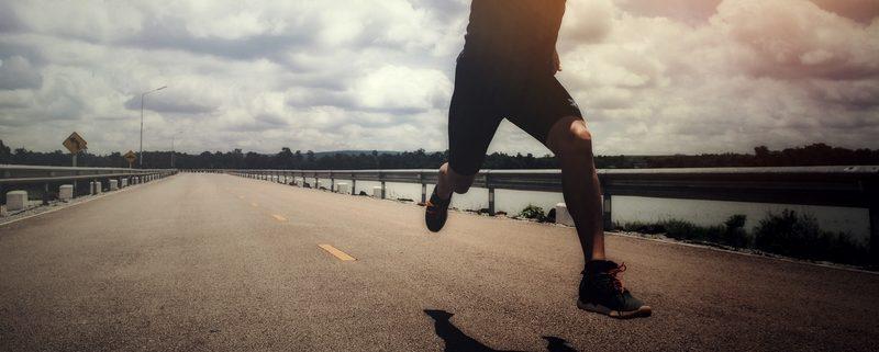 Courir en été